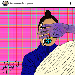 Tessa Thompson Portrait