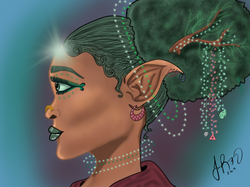 Beings of the Forest - Elf Seer