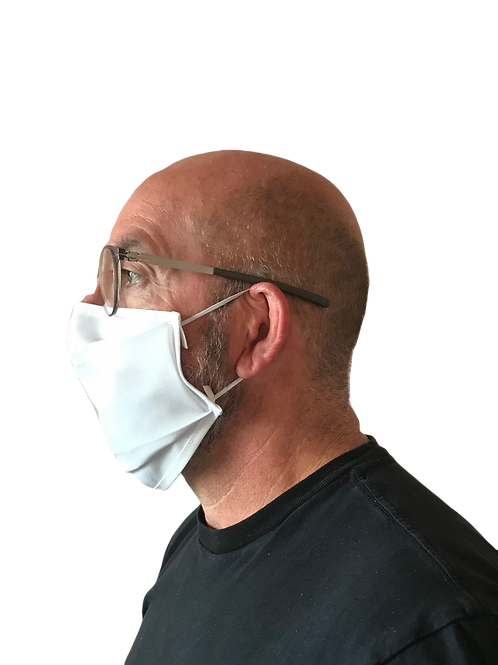 Barrier Face Mask with extra antibacterial layer  (4 pack)