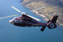 Helicopter transfers available
