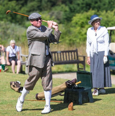 Rent original hickory golf clubs