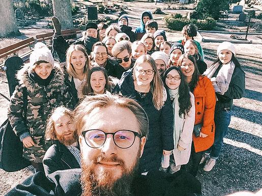 Rīgas Vecā Sv. Ģertrūdes draudzes jaunieši
