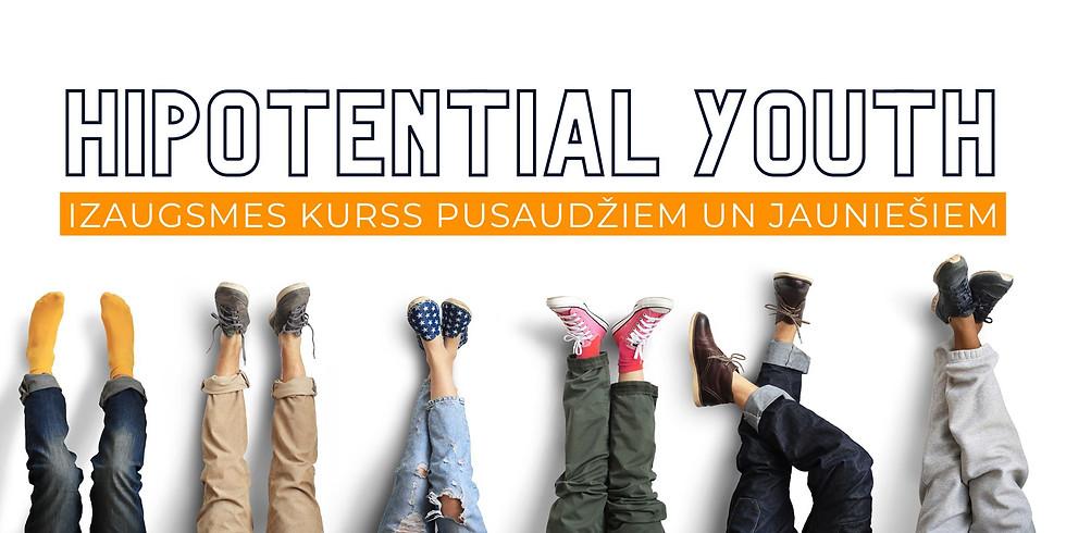 HiPotential Youth - izaugsmes kurss pusaudžiem un jauniešiem