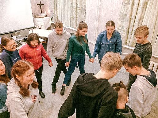 Daugavpils Mārtiņa Lutera katedrāles jaunieši