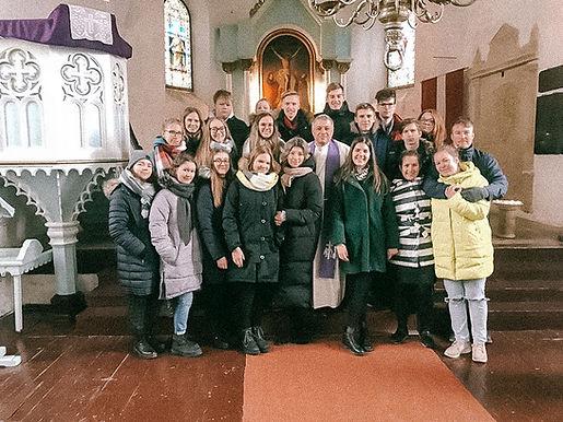 Neretas evaņģēliski luteriskās baznīcas jaunieši