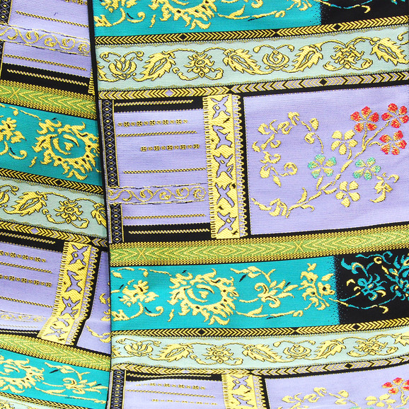 袋帯新柄、段織モール文