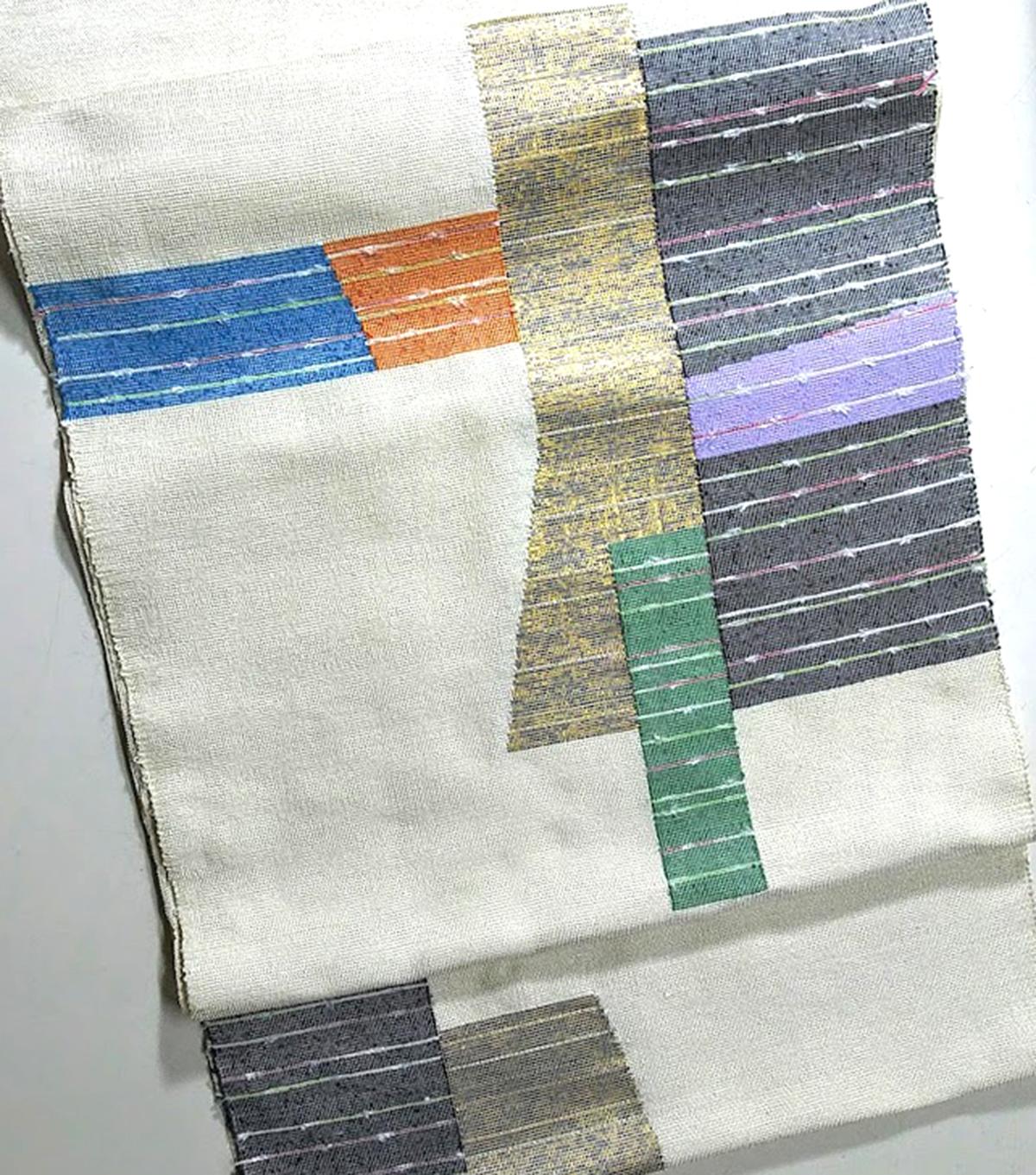 河崎工房 手織帯