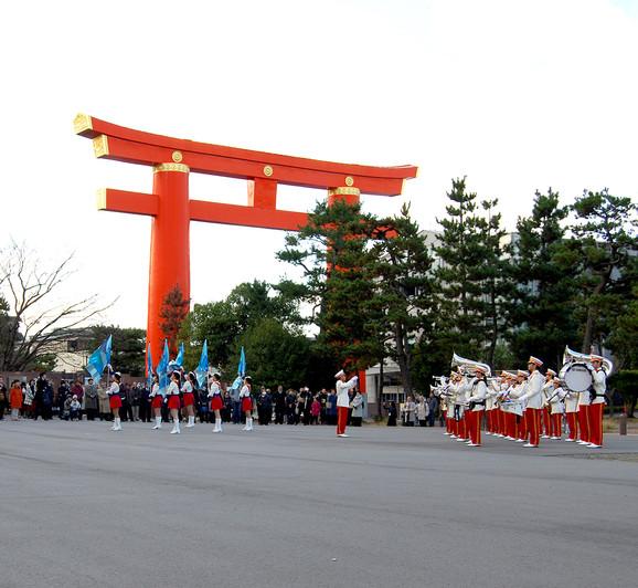 京都日展開会式