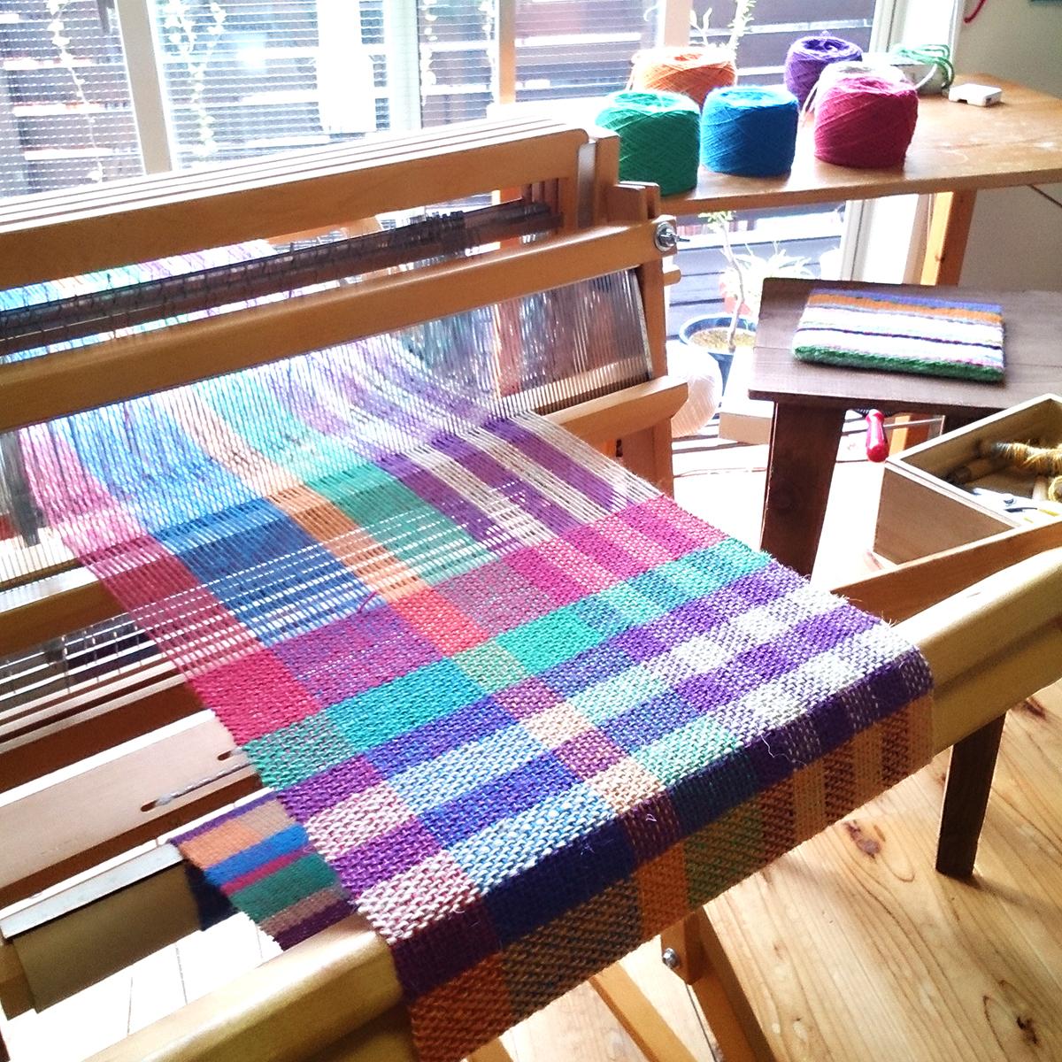 織教室織機