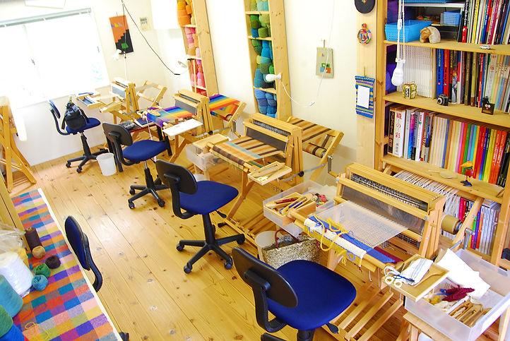織教室室内