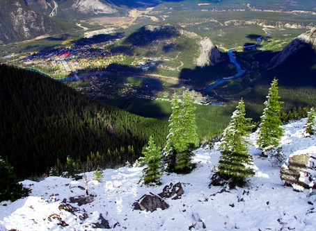 First Snow, Banff