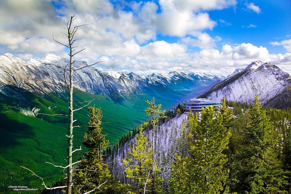 Summit of Sulphur Mountain
