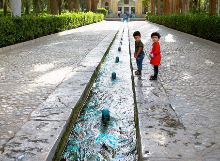 Oasis of Kashan, Iran, Part I