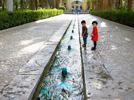 Oasis of Kashan, Iran, Part I
