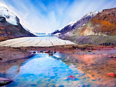 When I Glance at a Picture; Columbia Glacier, Alberta, Canada