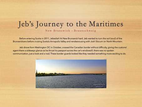 Jeb's Journey to Canada's Maritimes: New Brunswick