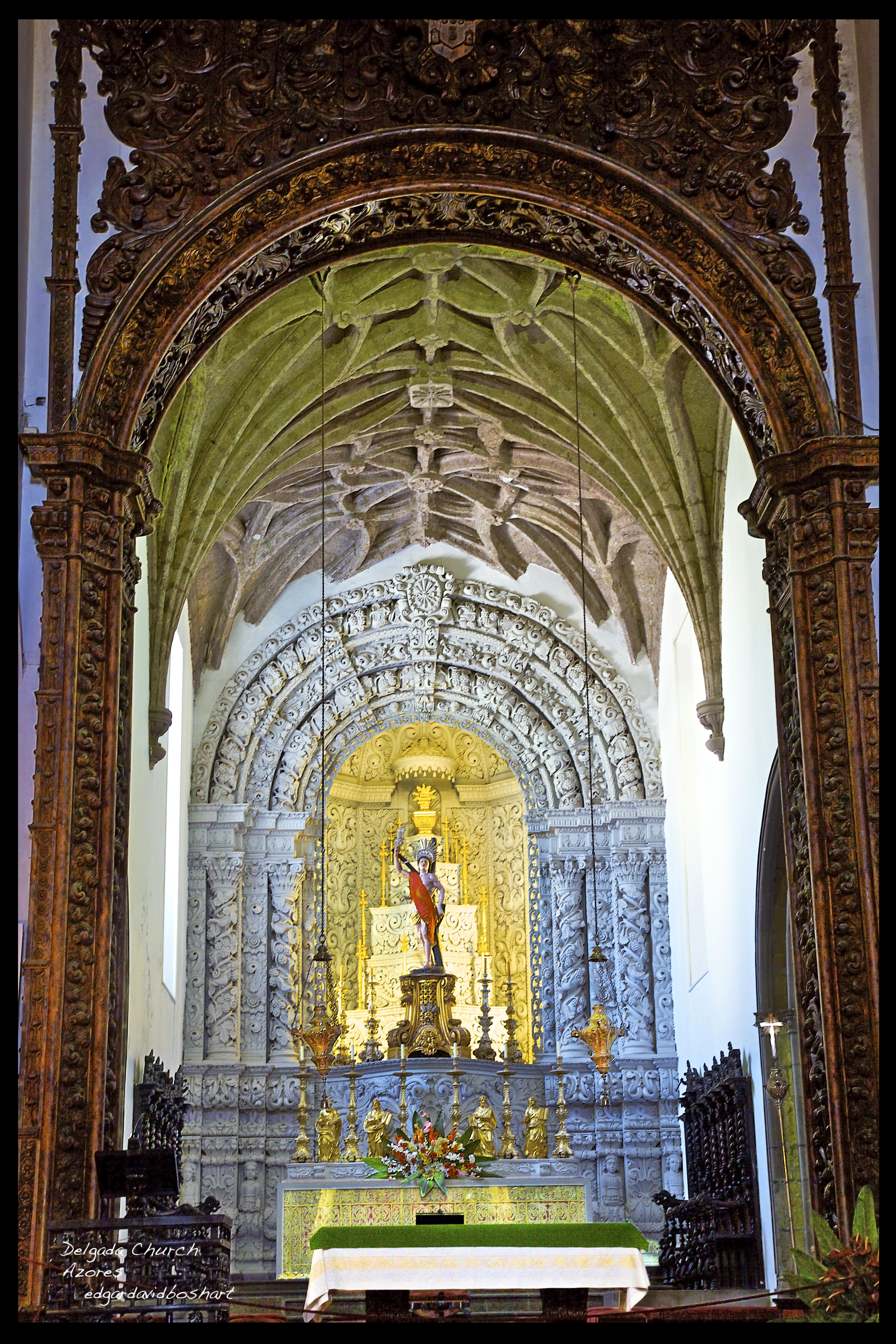 Delgada Church, Azores