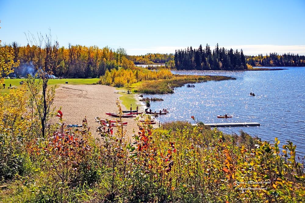Elk Island Recreational Area, Alberta, Canada