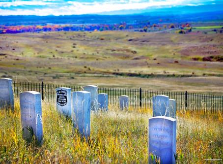 Graves Beside a River: the Little Bighorn