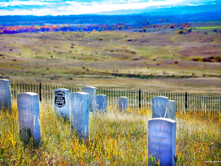 Graves Beside a River: the Little Bighorn