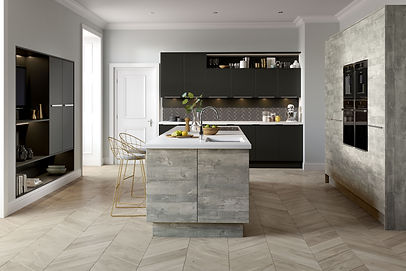 Inset Linear Atrium Grey & Chic Graphite