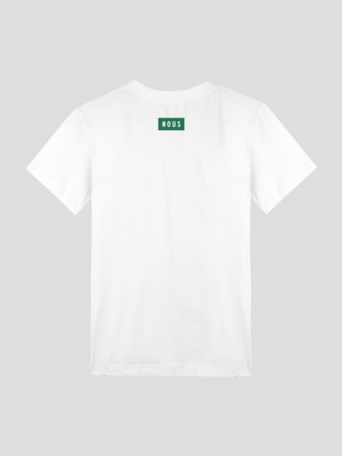 White T-shirt with Logo