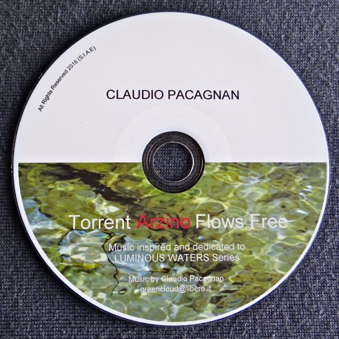 """Torrent Arzino Flows Free  Music from """"Luminous Waters"""" Series (October 12, 2016)"""