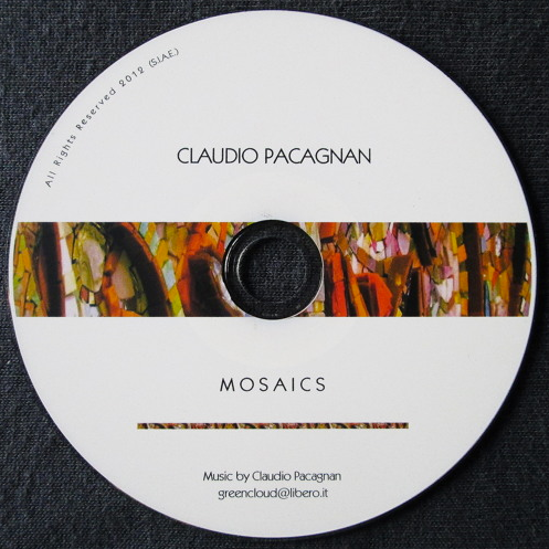 Mosaics  Music inspired by the work of Giulio Menossi  (CD – May 2012)