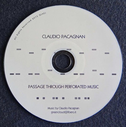 Passage Through Perforated Music  Music inspired by the artwork of Riccardo De Marchi (CD – April 2015)