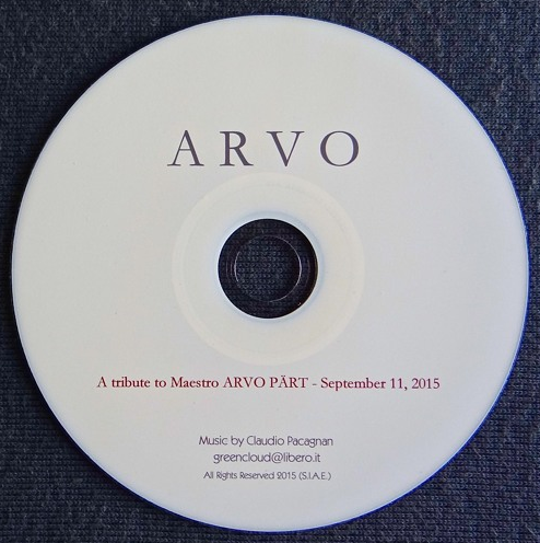 ARVO  A tribute to Maestro Arvo Pärt (September 11, 2015)