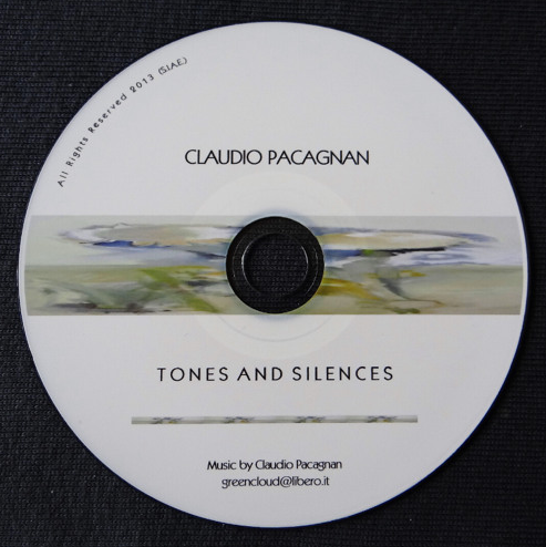 Tones and Silences  Music inspired by the work of Maestro Guido Tavagnacco (CD - August 2013)