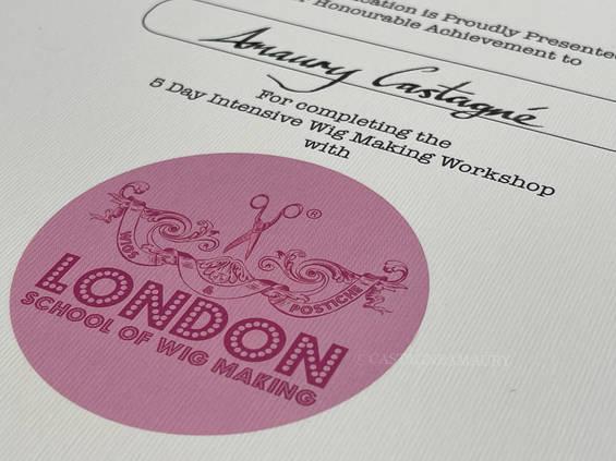 london-school-wig making-achievement-cas