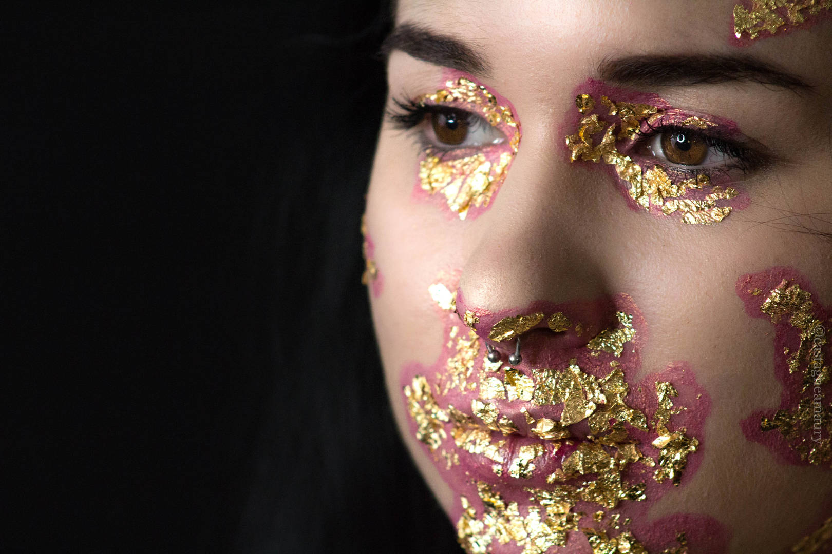 make-up-gold-leafs-editorial-castagne-am
