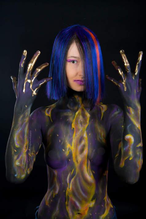 wig-modacryl-body-painting-make-up-airbr