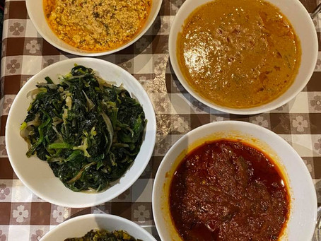 Ενα ιδιαίτερο γεύμα από το Καμερούν, ένα καταπληκτικό τσίπουρο, ένα ιδιαίτερο ψωμί και ένα σχόλιο