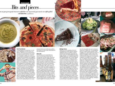 Food Diary 01/03/2020 - Fork Food Market, Silver Pot, Bottega Amaro