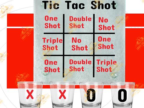 Tipsy Tic Tac Toe