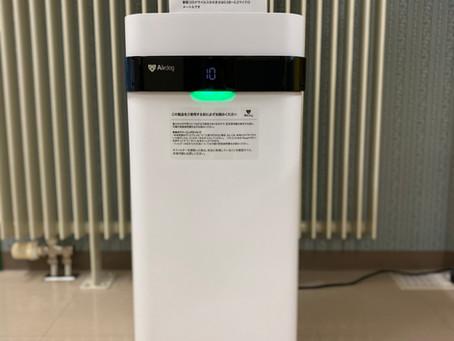 大小含めて15台の空気清浄機が活躍中です。