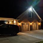 New garage addition.