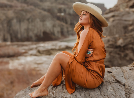 Idaho Western Fashion Lifestyle Session