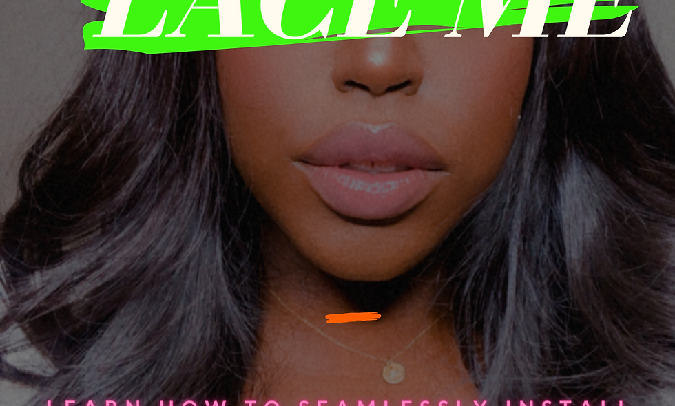 Lace Me: A Girls Guide to Installing Lace Gluelessly