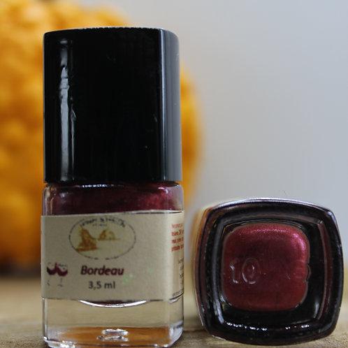 Bordeau-Vernis à ongles
