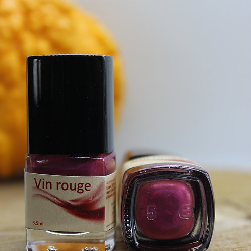 Vin rouge-Vernis à ongles