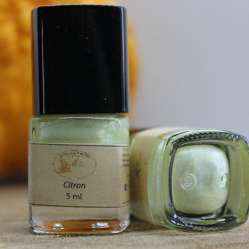 Citron-Vernis à ongles