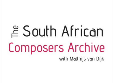 The South African Composers Archive Interview