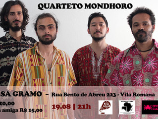Show do Mondhoro no Centro Cultural Casa Gramo