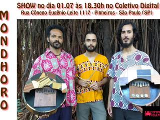 "Show ""Rio de Pedra Preta"", Mondhoro"