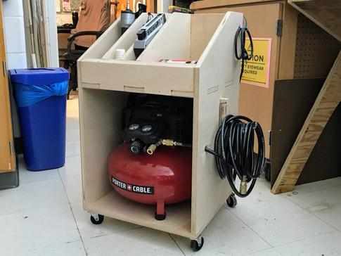 Air Compressor Cart | 2016