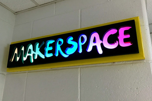 Makerspace Sign | 2016