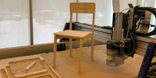 Slot-together Chair | 2018